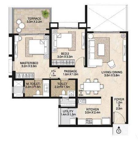 mahindra lifespaces antheia apartment 2 bhk 1390sqft 20204920114953