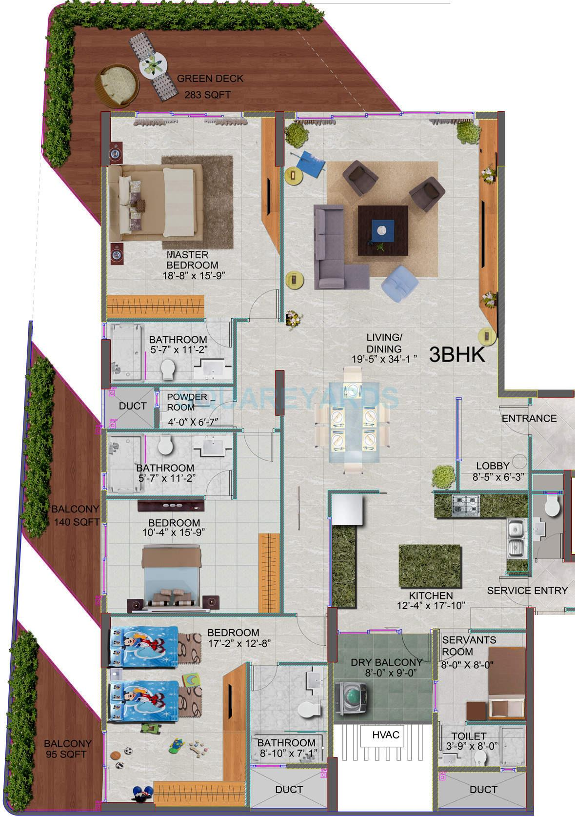 mahindra lifespaces l artista apartment 3 bhk 2629sqft 20201220121217