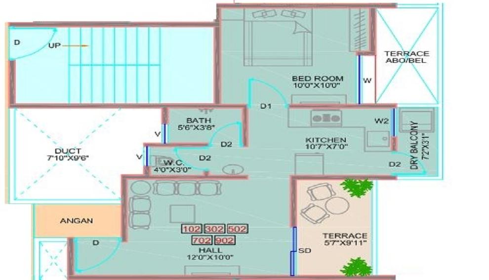 majestique manhattan apartment 1 bhk 660sqft 20201820161819