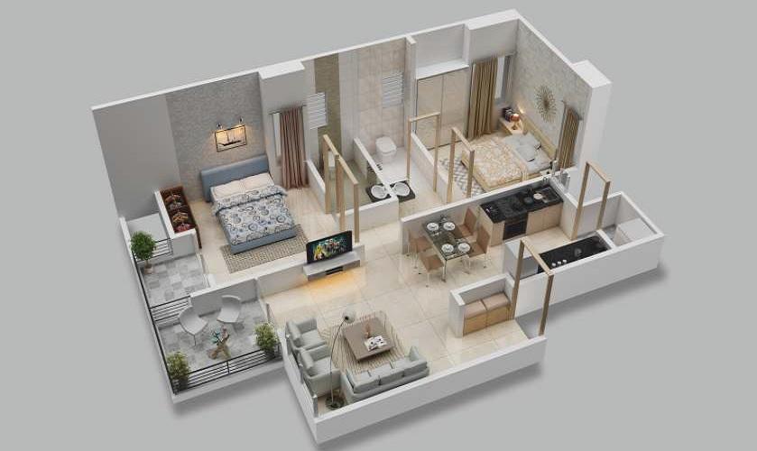 majestique memories 90 phase 1 apartment 2 bhk 511sqft 20200420170435