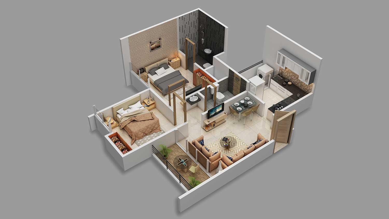 majestique mrugavarsha apartment 2bhk 548sqft31