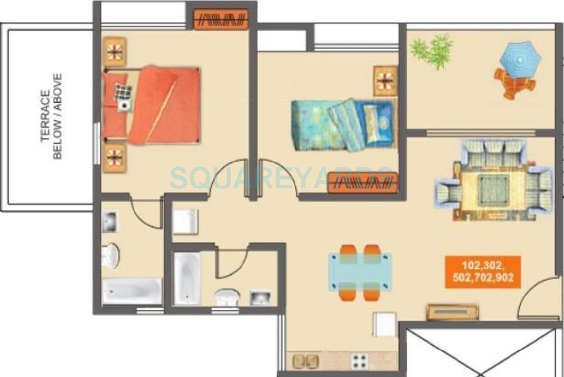 mantra mantra majestica apartment 2bhk 789sqft1