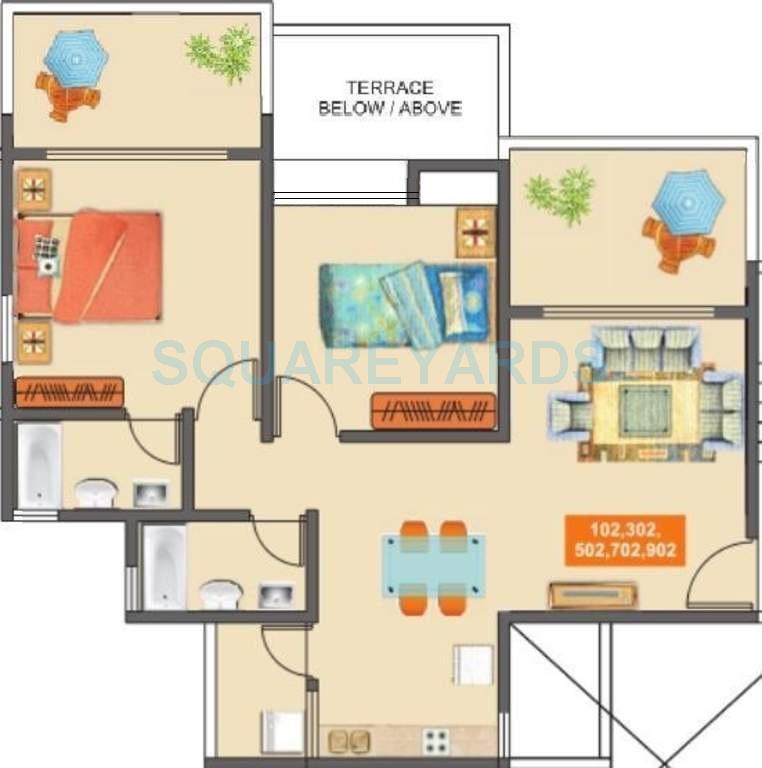 mantra mantra majestica apartment 2bhk 856sqft1