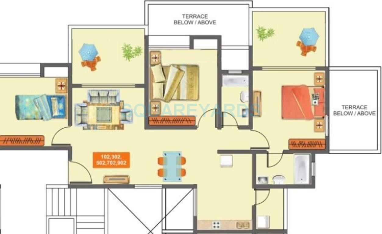 mantra mantra majestica apartment 3bhk 1102sqft1