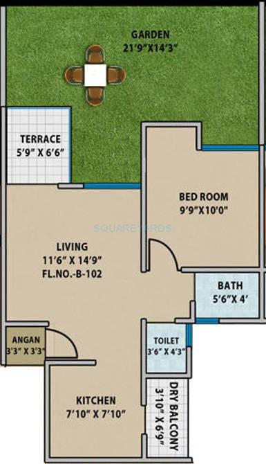 mantra senses apartment 1bhk 796sqft 10375