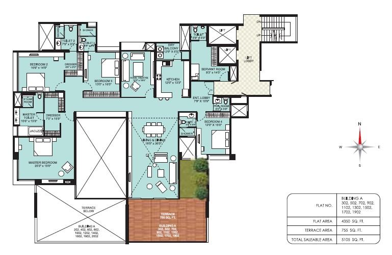 marvel aquanas apartment 4bhk 5105sqft81