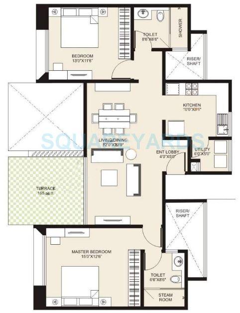 marvel cerise apartment 2 bhk 2000sqft 20204421084405