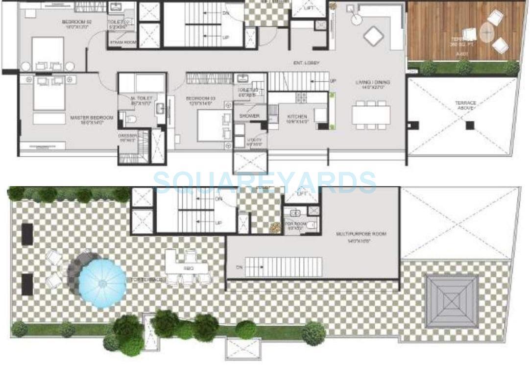 marvel crest apartment 3bhk 3650sqft1
