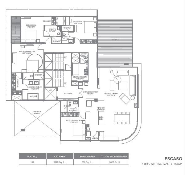 marvel escaso apartment 5bhk 3825sqft71