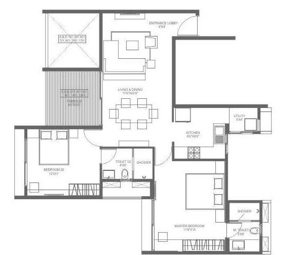 marvel ideal spacio phase 1 apartment 2 bhk 688sqft 20202121102114