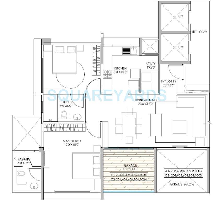 marvel izara apartment 2 bhk 904sqft 20200821160843