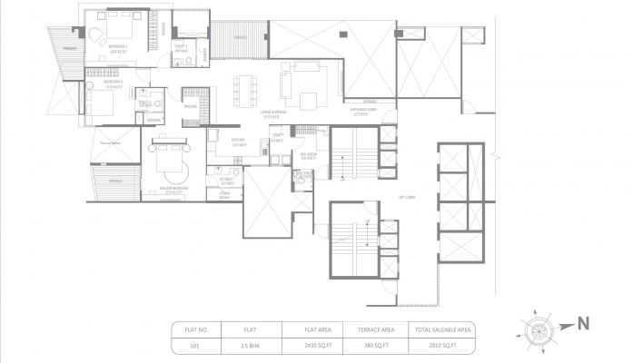 marvel ribera apartment 3bhk 2810sqft121