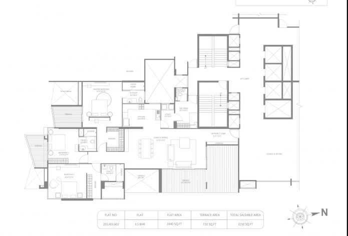 marvel ribera apartment 3bhk 3150sqft121