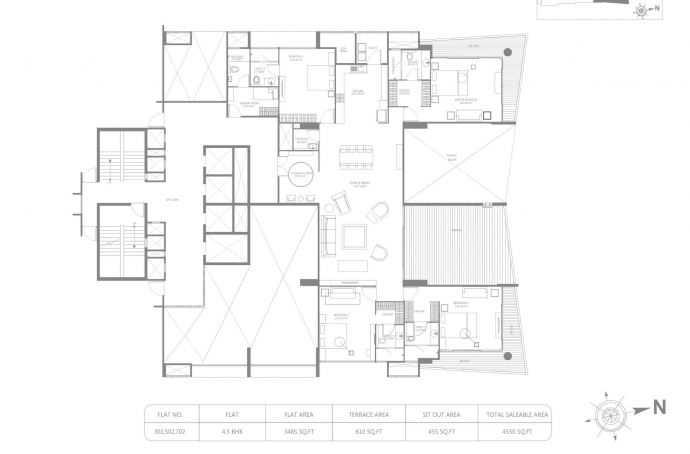 marvel ribera apartment 4bhk 4550sqft121
