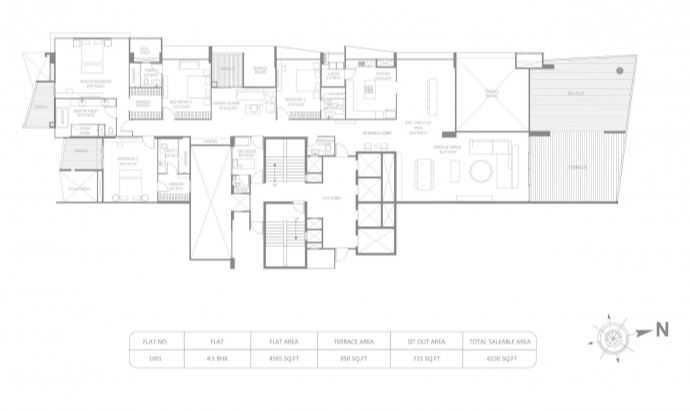 marvel ribera apartment 4bhk 6230sqft121