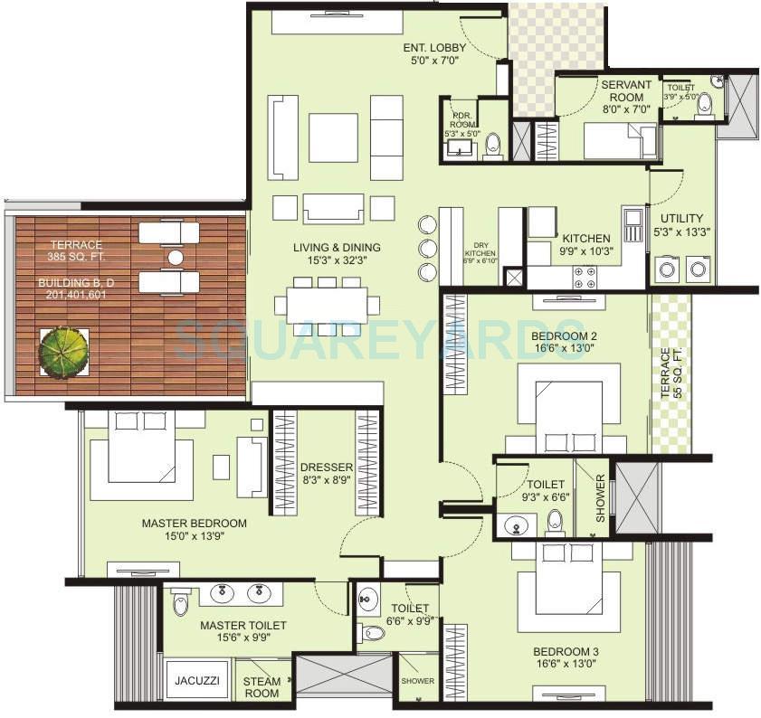 marvel selva ridge estate apartment 3bhk 3025sqft 10792