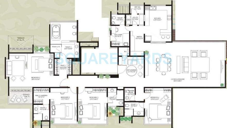 marvel zephyr apartment 4bhk 5650sqft 10956