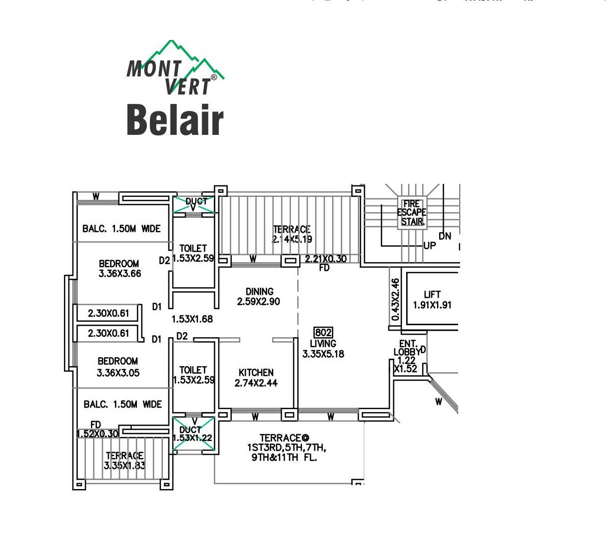 mont vert belair apartment 2 bhk 987sqft 20205827125852