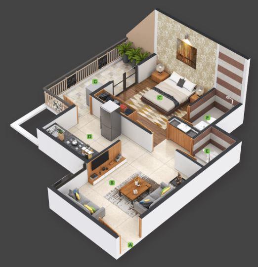 nexus gulmohar apartment 1bhk 357sqft21