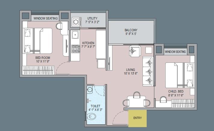 nyati evoq apartment 1 bhk 485sqft 20202323162339
