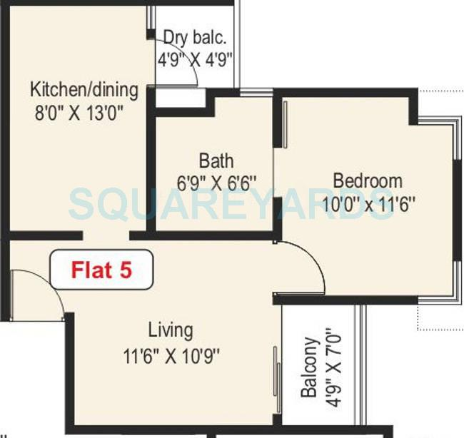 paranjape schemes athashri xion apartment 1bhk 645sqft 9746