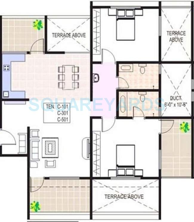 Floor Plan For 1200 Sq Ft Apartment on 3 Bedroom 1200 Square Foot House Plans
