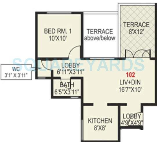 paranjape schemes madhukosh apartment 1bhk 574sqft 11744