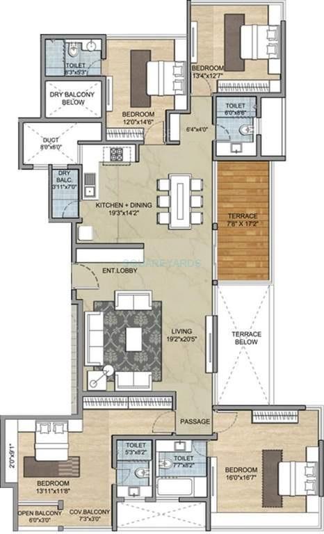 paranjape schemes punarvasu apartment 4bhk 1849sqft1