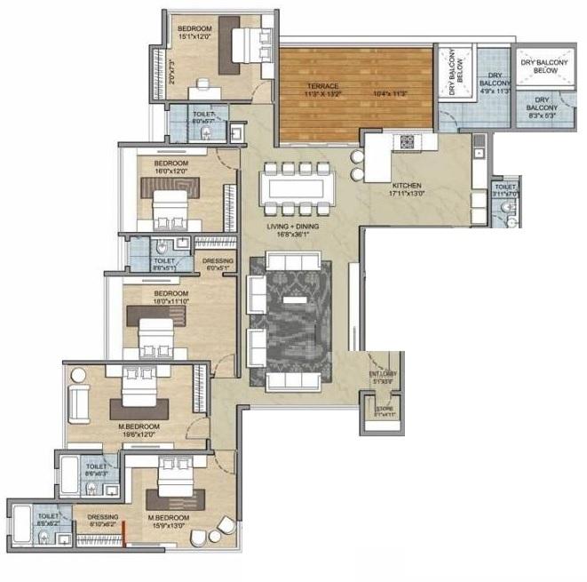 paranjape schemes punarvasu apartment 5 bhk 3539sqft 20215212165240