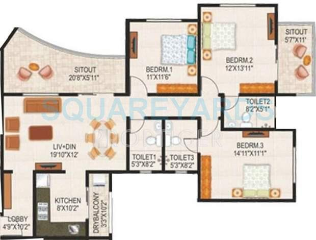 paranjape schemes the highlands apartment 3 bhk 1510sqft 20200627130634