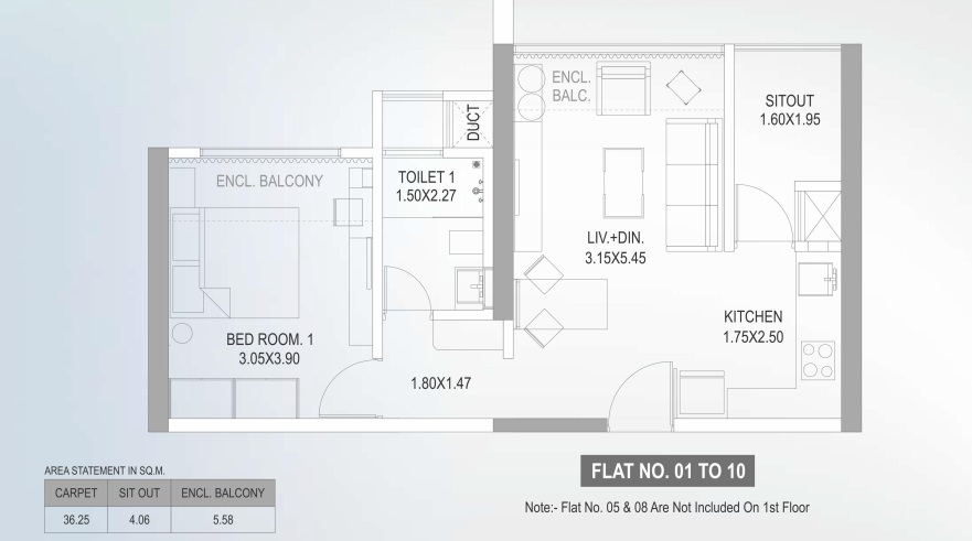 paranjape the lofts apartment 1bhk 390sqft01