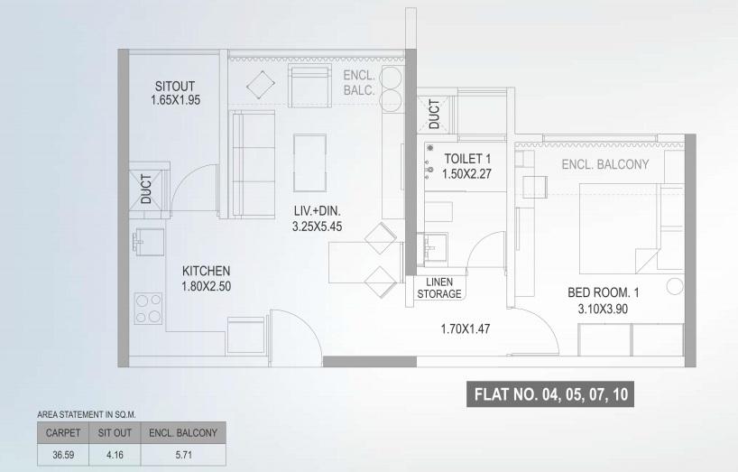 paranjape the lofts apartment 1bhk 394sqft31