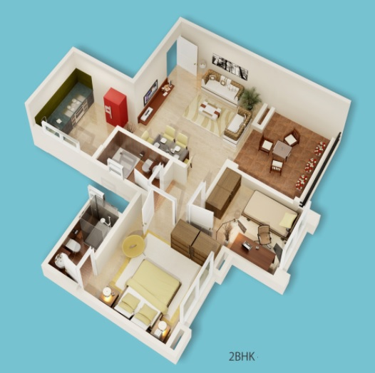 prasun loreto apartment 2 bhk 951sqft 20211420121401