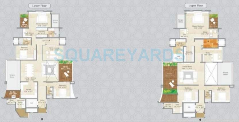 pride park grandeur apartment 4bhk 5795sqft 10546