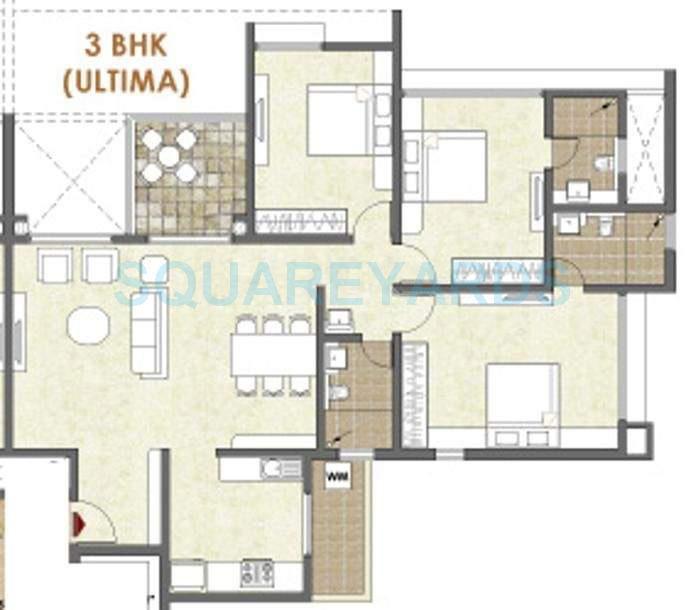 pride platinum apartment 3bhk 1690sqft 11023