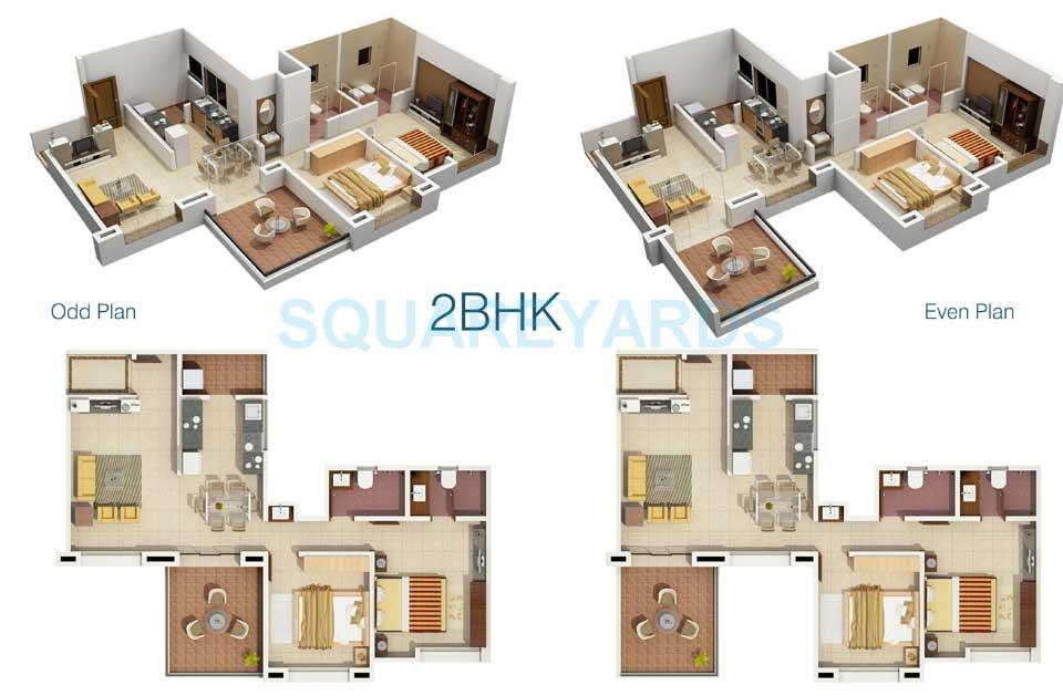 rachna lifestyle bella casa apartment 2bhk 1192sqft 1