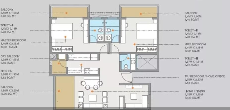 ravima newton homes apartment 2bhk 750sqft11