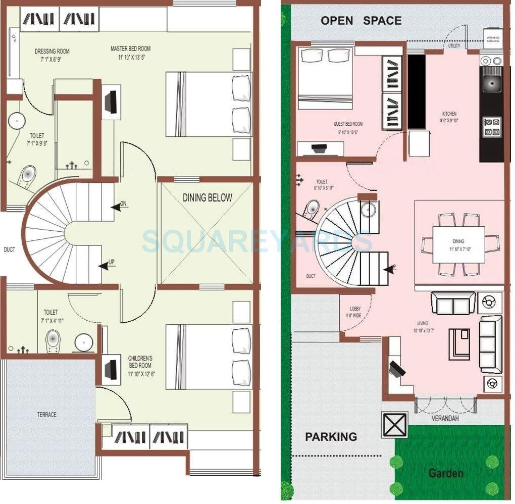 raviraj ozone villas villa 3bhk 1967sqft1