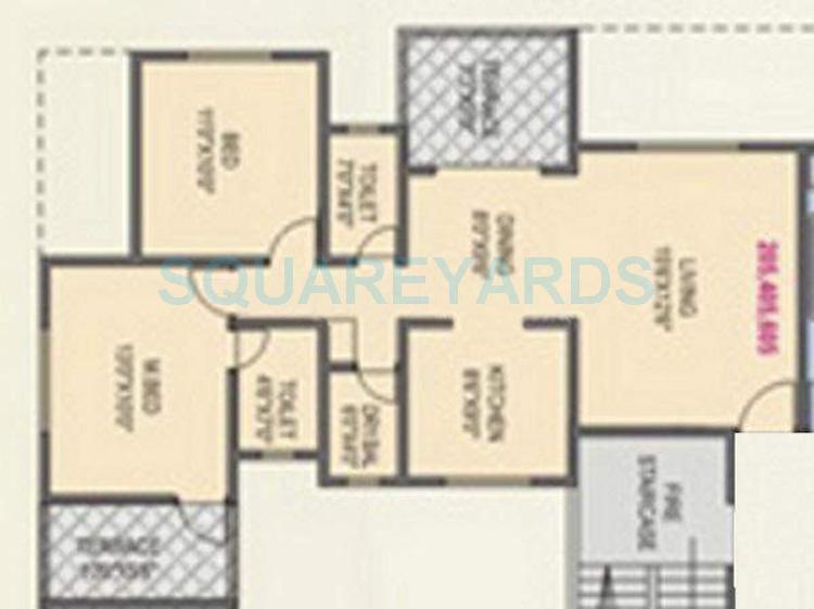 rk lunkad alankapuram apartment 2bhk 633sqft 10454