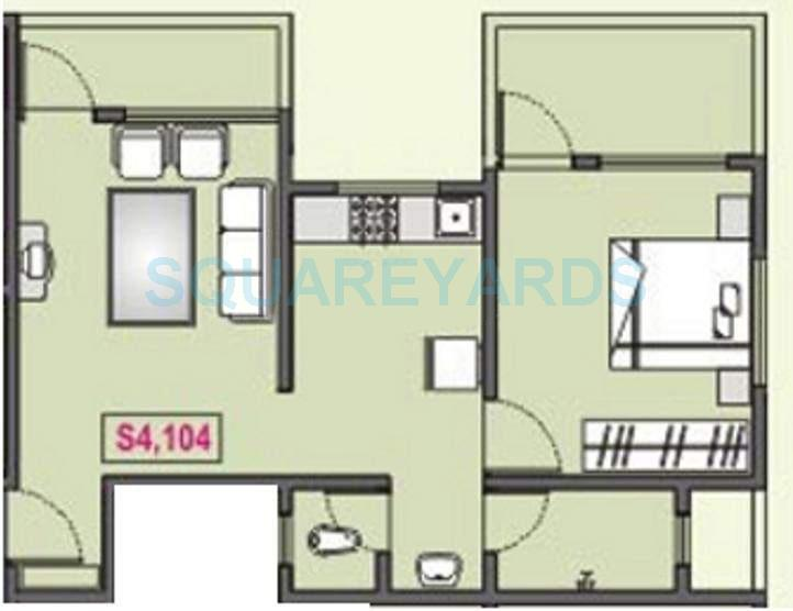 rk lunkad navratna apartment 1bhk 646sqft 11416
