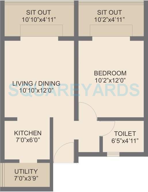 rohan abhilasha apartment 1bhk 634sqft 9736