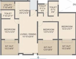 rohan abhilasha apartment 3 bhk 1438sqft 20213005163055
