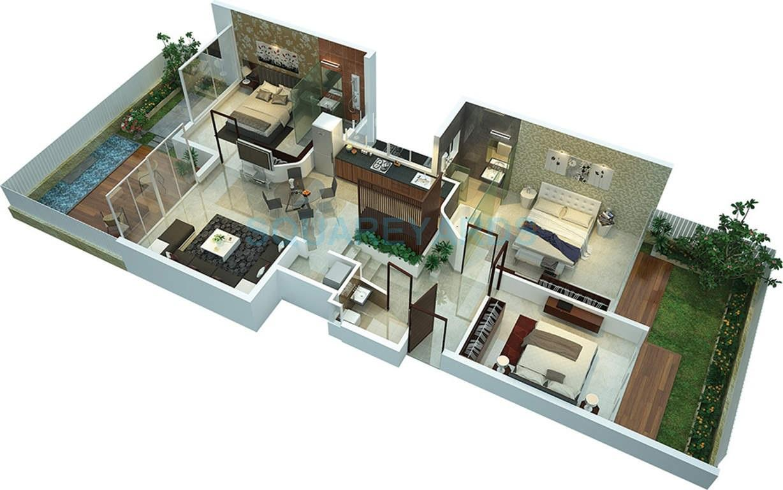 rohan leher ii apartment 3bhk 1617sqft1