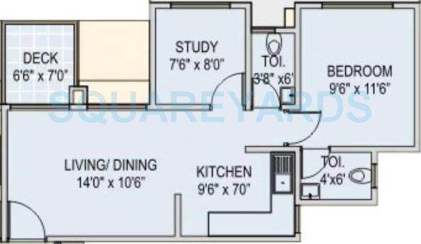 runwal euphoria apartment 1bhk 560sqft 11014