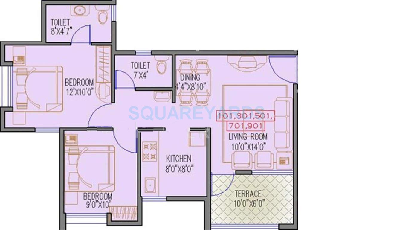 runwal seagull apartment 2bhk 706sqft1