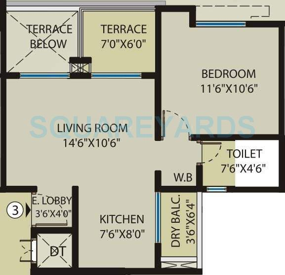 saarrthi souvenir apartment 1bhk 618sqft 10631