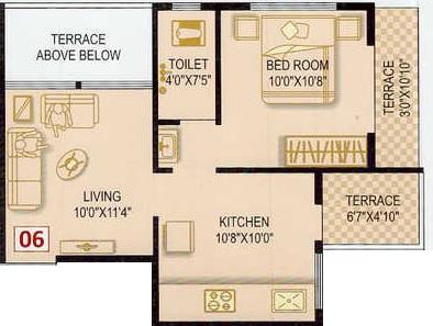 saurabh heights apartment 1 bhk 457sqft 20214312104336