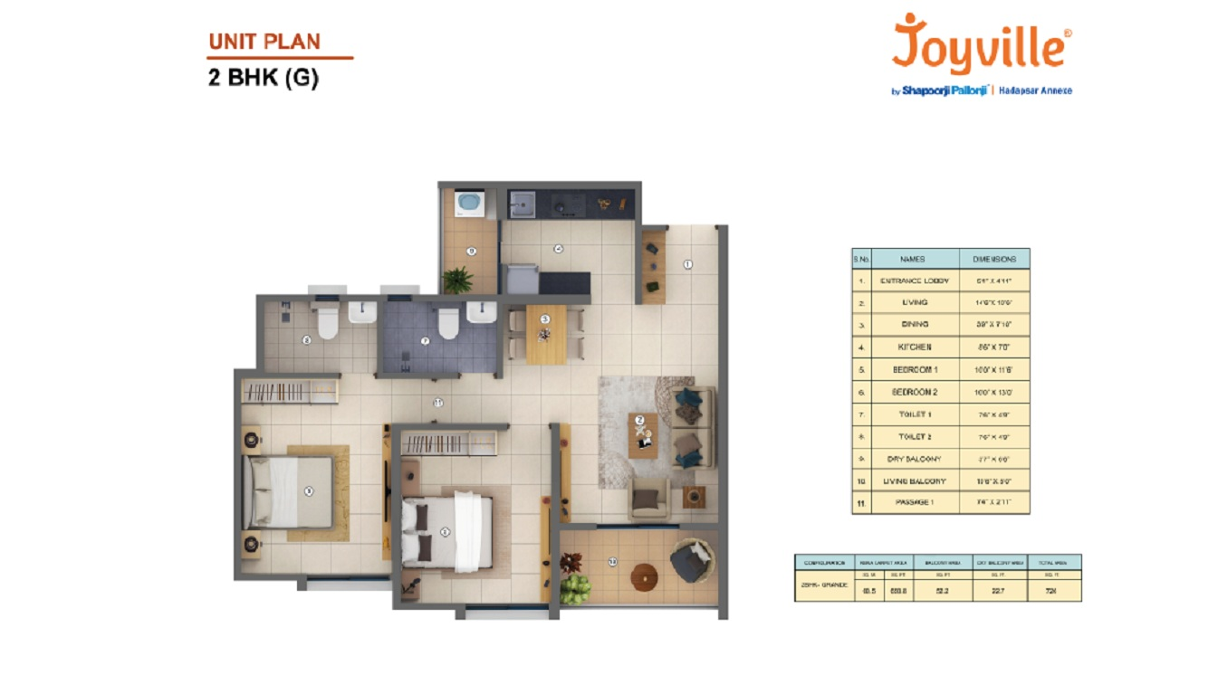 shapoorji pallonji joyville hadapsar annexe  apartment 2 bhk 725sqft 20202103102132