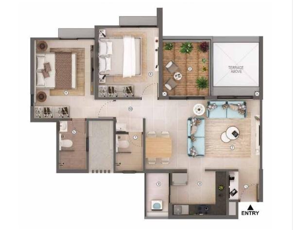 shapoorji pallonji sensorium apartment 2 bhk 783sqft 20201830151859