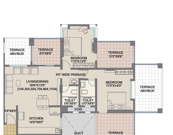 shree bal kapil akhila apartment 2bhk 1510sqft 1